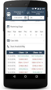 IRail - Seats,PNR,Track Train - screenshot