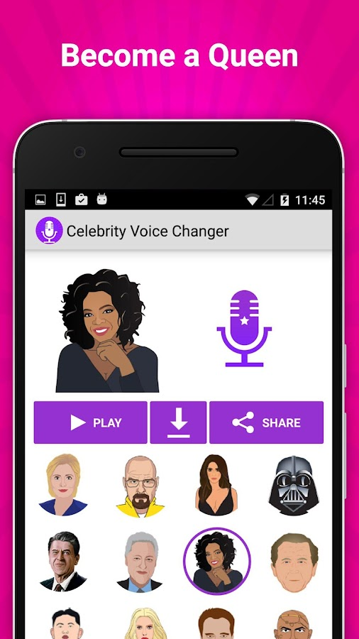 Celebrity Voice Changer Fun FX Screenshot 1