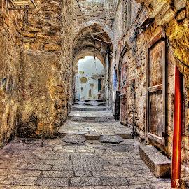 Jerusalem by Dong Leoj - City,  Street & Park  Neighborhoods ( city )