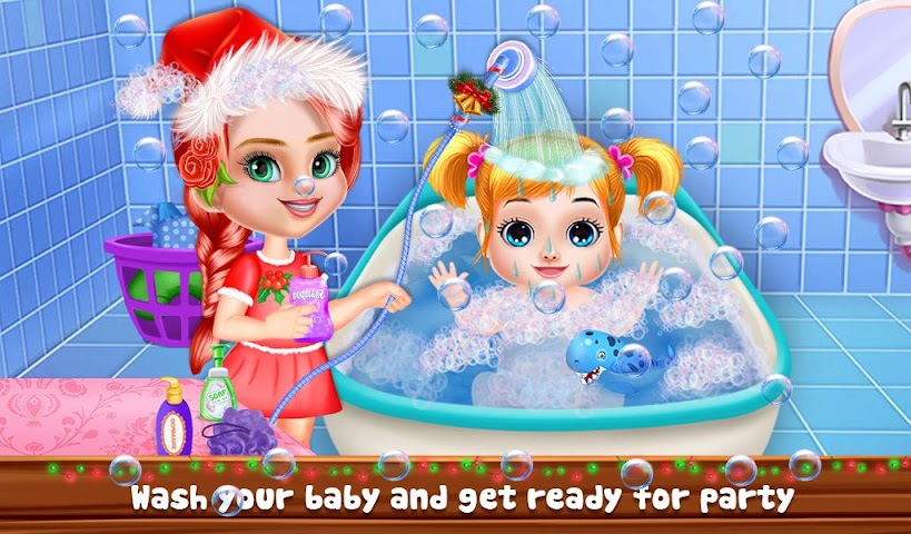 android Christmas Baby Care And Bath Screenshot 13