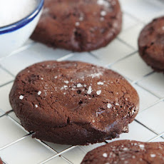 Double Chocolate Sea Salt Cookies