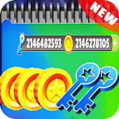Keys,Coins for Subway Surfers