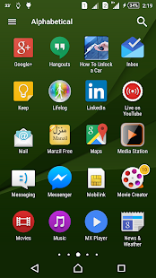 App Z5 Launcher and Theme APK for Windows Phone