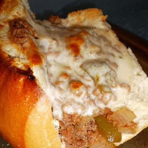 Philly Cheese-steak Sloppy Joes