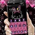 Free Pink Kitty Diamond Princess Theme APK for Windows 8