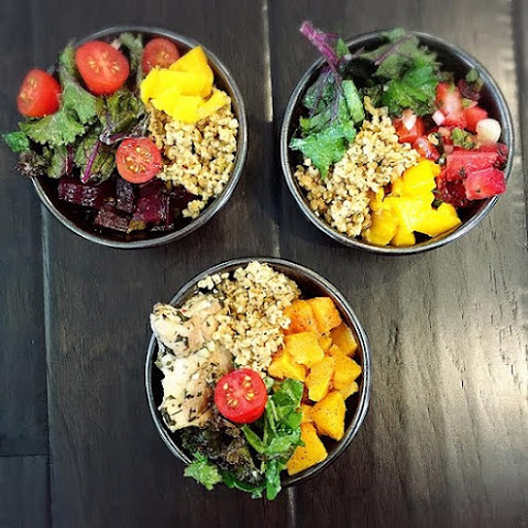 Tahini Freekeh Power Bowls