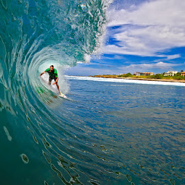 Playa Negra Costa Rica by Trevor Murphy - Sports & Fitness Surfing ( surfing, tube, costa rica )
