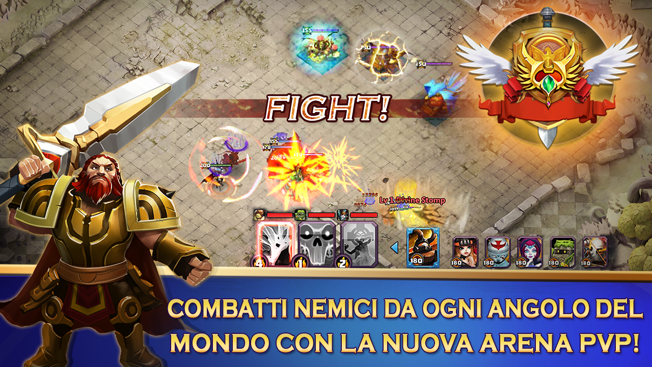 Clash of Lords 2: Italiano Screenshot 1