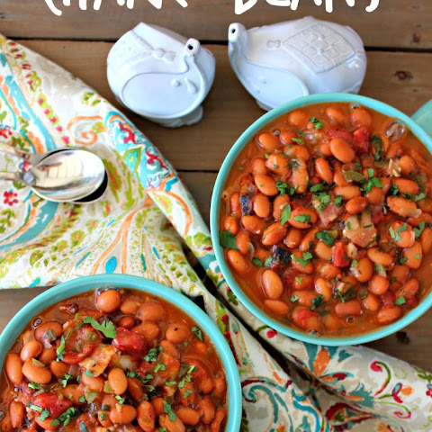 Easy Charro Beans with Canned Beans