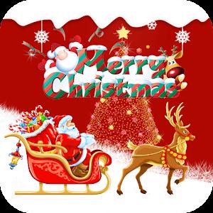Рождество Санта Красный