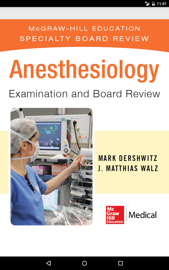 Anesthesiology Board Review Screenshot 16