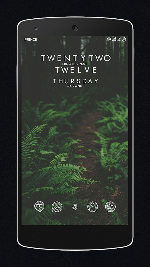 Zebro White Icon Pack Screenshot 0
