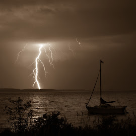 Summedr storm by Peggy Zinn - Landscapes Weather