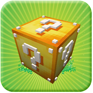 """Lucky Block Mod for Minecraft 2016"" has the quality wallpapers for any taste. APK Icon"