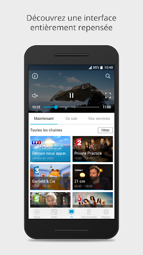 B.tv Android App Screenshot