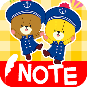 MEMO PAD TINY TWIN BEARS NOTE