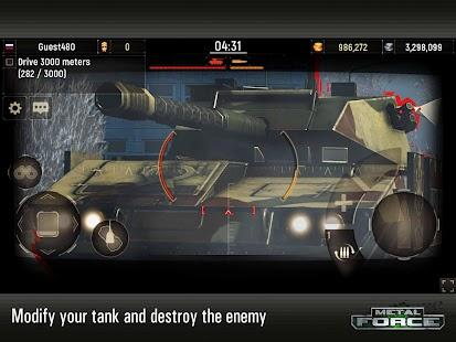 Game Metal Force: War Modern Tanks APK for Windows Phone