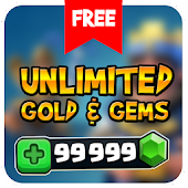 Free Gems for Clash Royale Prank! APK for Windows 8