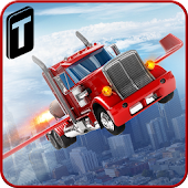 Modern Flying Truck Sim 3D APK for Blackberry