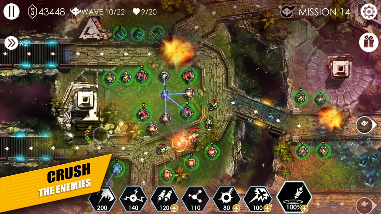 Tower Defense: Invasion HD Screenshot 8