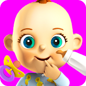 Download Talking Babsy Baby: Baby Games APK to PC