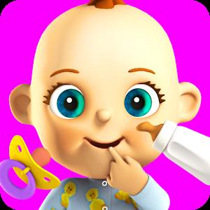 Говоря Babsy ребенок - игры