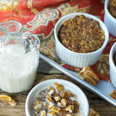 Gluten-free Baked Pumpkin & Whole Grain Hot Cereal