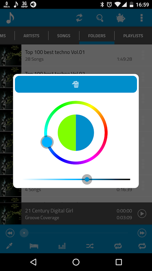 Folder Music Player Screenshot 5