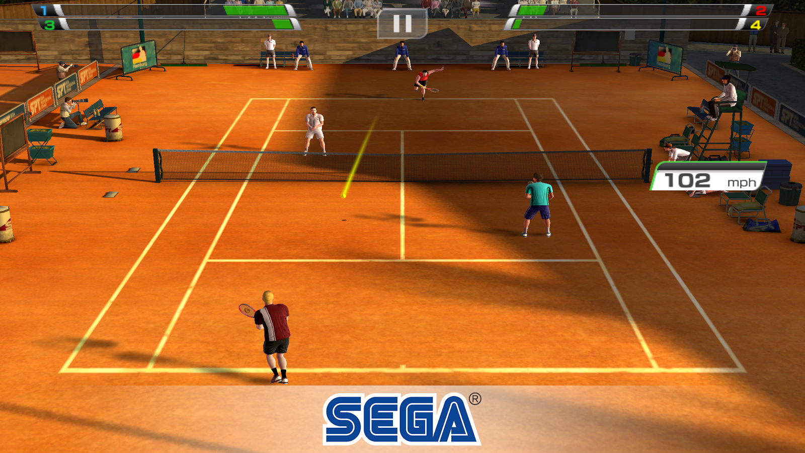 Virtua Tennis Challenge Screenshot 2