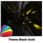 Theme - Black Gold Icon