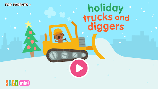 Sago Mini Holiday Trucks and Diggers for pc