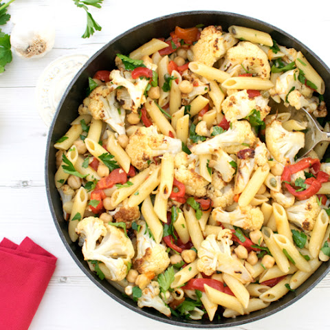 Chipotle Cauliflower Penne [vegan]