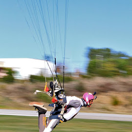 skydive by Paula Soares - Sports & Fitness Other Sports ( spots, skydiving, skydive, dz, swoop, swooping, gree )