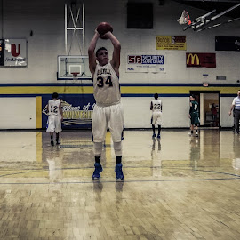 freethrow 2 by TJ Morrison - Sports & Fitness Basketball ( basketball, freethrow, score, win, hoops )