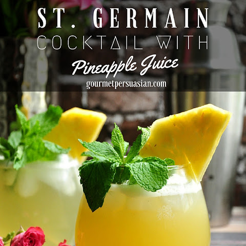 St. Germain Cocktail With Pineapple Juice