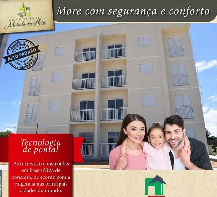 Apartamento não mobiliado, residencial para locação, Jardim Floresta, Boa Vista.