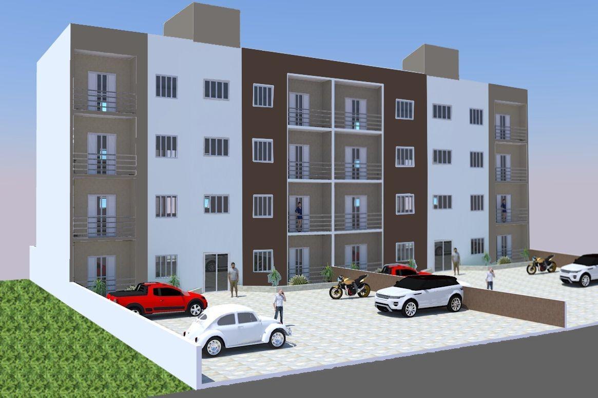 Apartamento com 2 quartos à venda, 63 m² por R$ 250.000 - Jardim Recreio - Bragança Paulista/SP