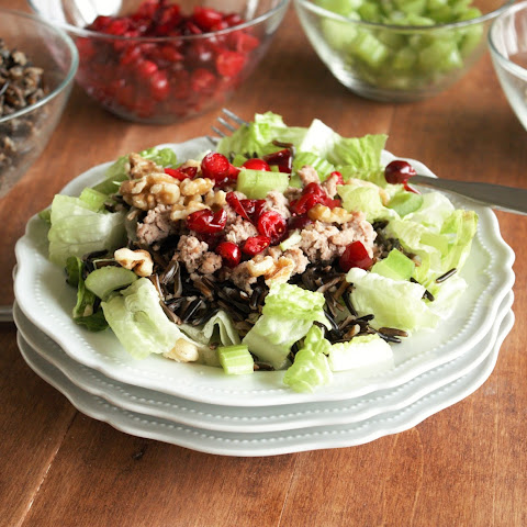 Turkey, Cranberry, and Wild Rice Salad