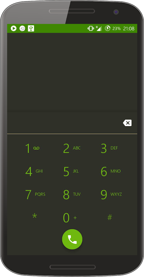Bamboo Dark CM Theme Screenshot 4
