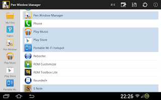 Screenshot of PEN Window Manager