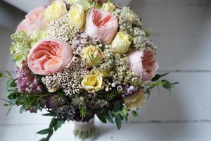 Juliet rose bridal bouquet - The Florist Tunbridge Wells