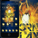 Cool special effects theme basketball theme Icon