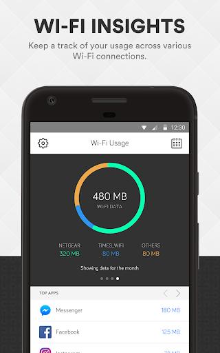 Smart Data Usage Monitor & Speed Test - smartapp screenshot 3