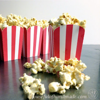 10 Minute Soft & Chewy Caramel Popcorn