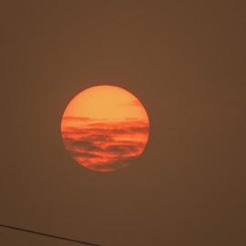 Sunset by Anindita Sharma - Nature Up Close Other Natural Objects ( sky, sunset, close up, evening, sun,  )