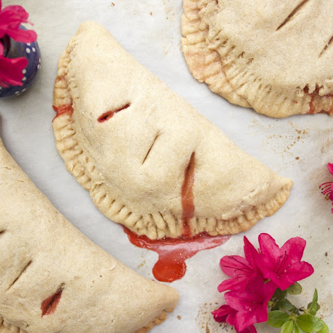 Vegan Strawberry Hand Pies (No Added Refined Sugar)