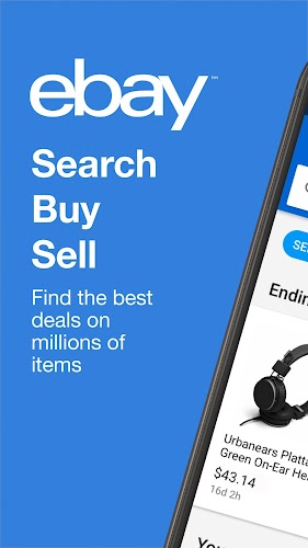 eBay - Buy, Sell & Save Money Android App Screenshot