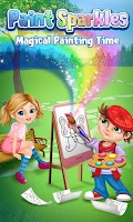 Screenshot of Paint Sparkles Coloring Book