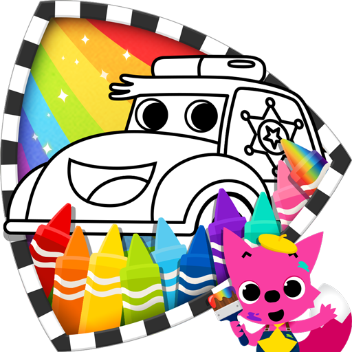 Cars Coloring Book PINKFONG (app)