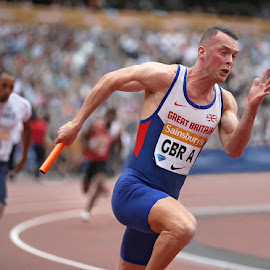 by Ron Russell - Sports & Fitness Other Sports ( uk athletics, relay, fitness, gb team, sport )